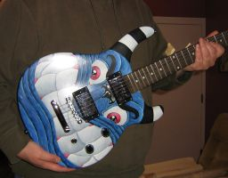 Monster guitar COMPLETE by ATLbladerunner