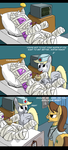Derpy practices medicine. by FiddleArts