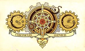 C.O.G. - Chronicles of Genius Logo by MaraAum