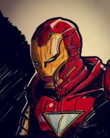 Iron Man  by HovigArt