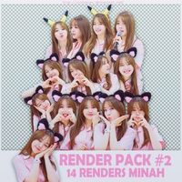 -090615- Pack Render Minah by RisFoxien