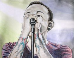 Chester Bennington 9 by skepticmeek