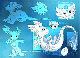 My Digimon by ElyFlycorn