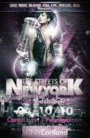 Streets of New York Fashion flyer by V1sualPoetry