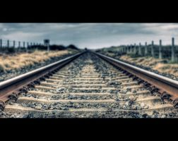 Silent Rails by SneachtaPix