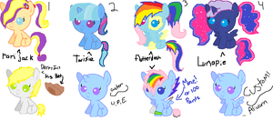 Shipping Adopts! (both Customs are open) by XxBlue-ThunderxX