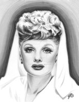 Lucille Ball by tainted-orchid