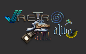 Retro Still Alive blog logo by Anarkhya