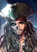 Curse of the Black Pearl by kawacy