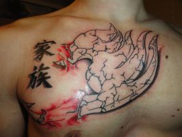 Fairy Tail Tattoo by PatriceBerthe