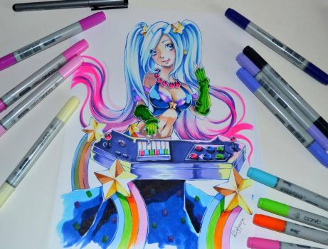 Arcade Sona by Lighane