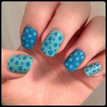 Blue and Green Dots by Miss-Reptilian