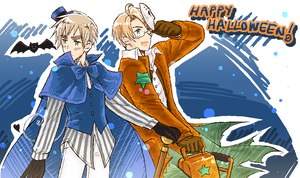 US+UK - Halloween by maiyeng