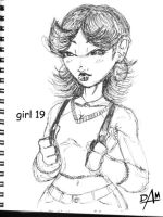 girl 19 by dmario