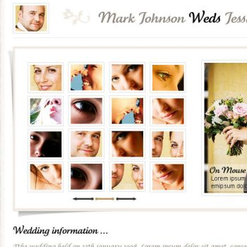 The Princess Wedding Photography Template by sixthlife