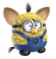 Minion Furby by Nutty-Nutzis
