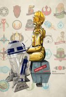 Droids Don't Cry by markdraws