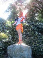 Soldier of Love and Beauty- Sailor Venus, henshin! by jobiberry