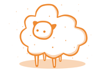 Sir Magical Puffy Cloud Sheepcow by ProsaurusRex