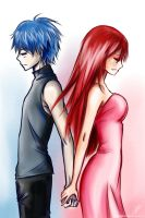 Erza and Gerard: Can't love, can't leave by Rinoa-Light-Leonhart