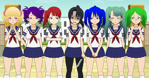 Yandere Simulator - Characters? by Xx-Chellie-Bellie-xX