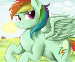 Rainbow Scribble by SirMasterDufel