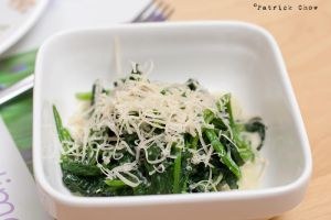 Spinach with blue cheese by patchow