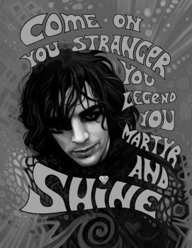 Shine on, Syd Barrett by Shishkina