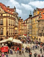 Prague - Market Street by pingallery