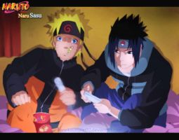 AT: Naruto+Sasuke by Km92