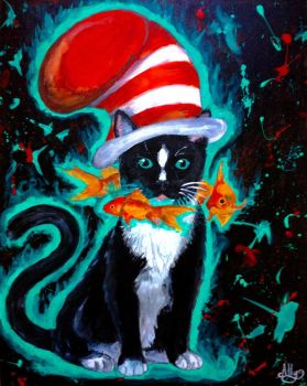 The Cat In The Hat by Rosepuggle