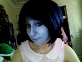 Cortana makeup #2 WITH contacts ! by SpartanJenzii