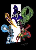 contest TEEN TITANS by Rezz-Dragon