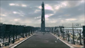 Fallout 3 The Washington Monument by gamer1312