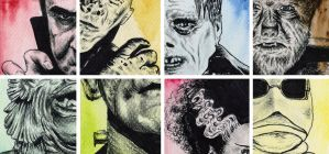 Universal Monsters by a-chelsea-grin
