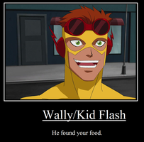 Yum Kid Flash Meme by FireAnt02