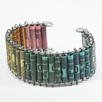 Paper Bead Jewelry- Monopoly Cuff Bracelet by Tanith-Rohe
