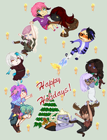 HAPPY HOLIDAYS 2013 From Timefang143 by Timefang143