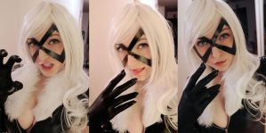 Black Cat WIP Closeup by SugarBunnyCosplay