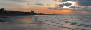 Nieuwpoort 9 (Sunset, Panorama) by rollarius55