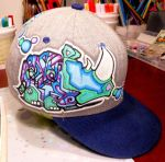 Graffiti Hat design by MF-minK