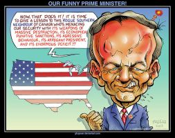 OUR FUNNY PRIME MINISTER! by glogauer