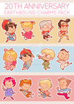 Earthbound charms!! by alicenpai