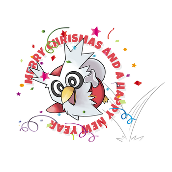 Merry Christmas and Happy new Year by nganlamsong