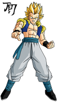 Adult Gotenks SSJ T.A. by jeanpaul007