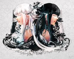 White Black by Miyukiko