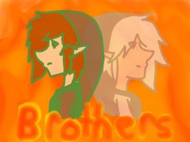 Brothers, Cindar and Coal by OniChick63
