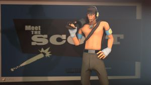 SFM Poster: Sexy Scout by PatrickJr
