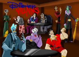 Disney High, The Villains by vertiklychalingd