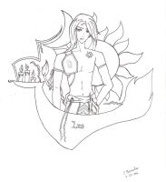 Leo  -tentative.uncolored- by mystic-blue